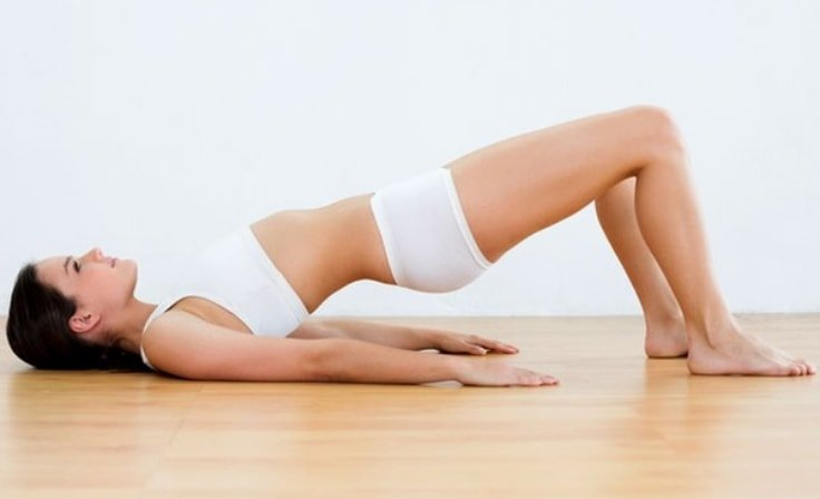 Pilates Bridge Pose To Reduce Back Pain