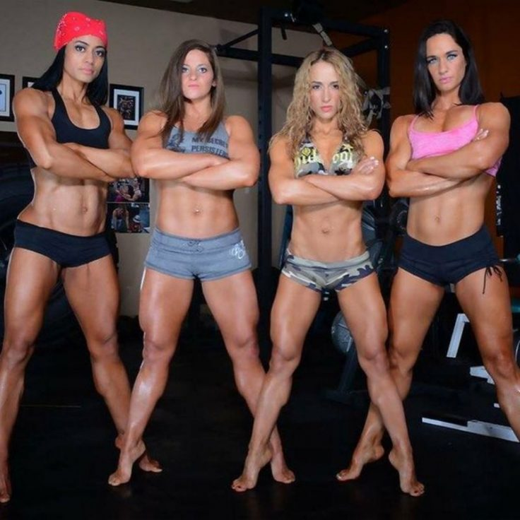 Hard Workout Done By Women