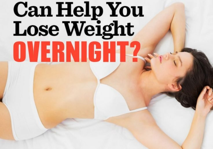 Overnight Weight Loss