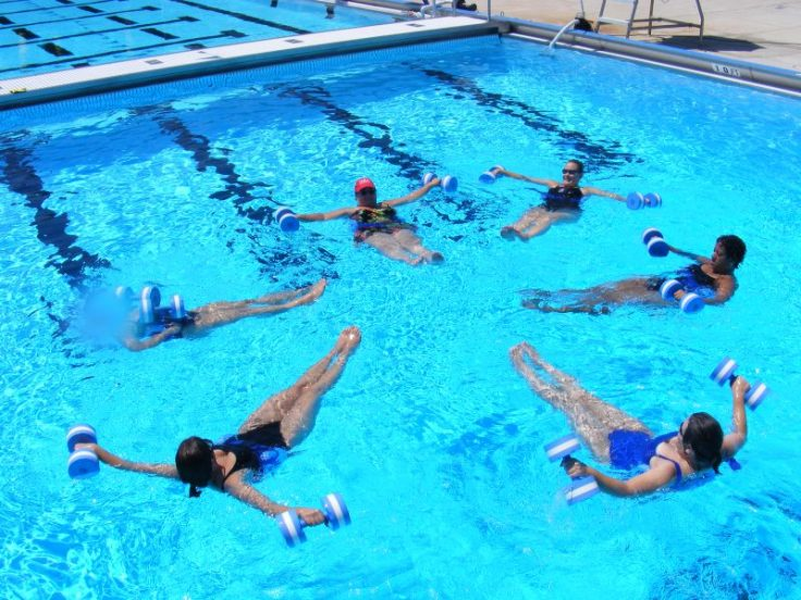 Pool Exercises For Thinner Thighs