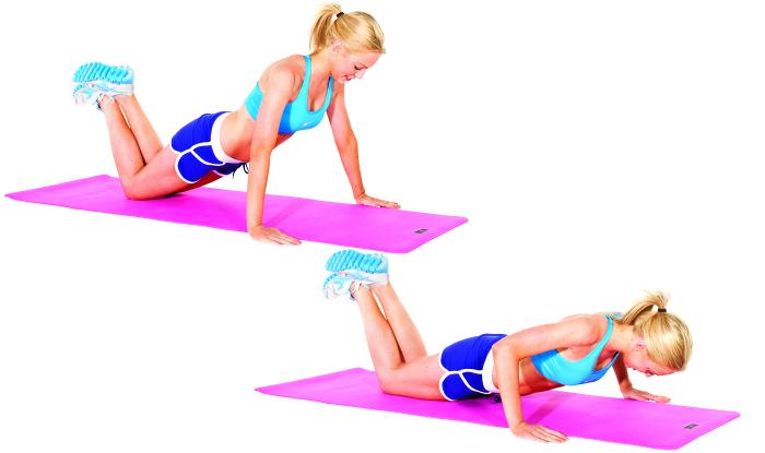 The Modified Push Up