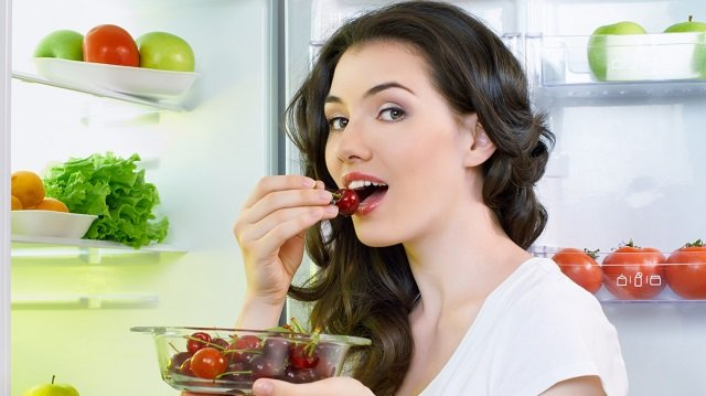 arrange your food in the refrigerator