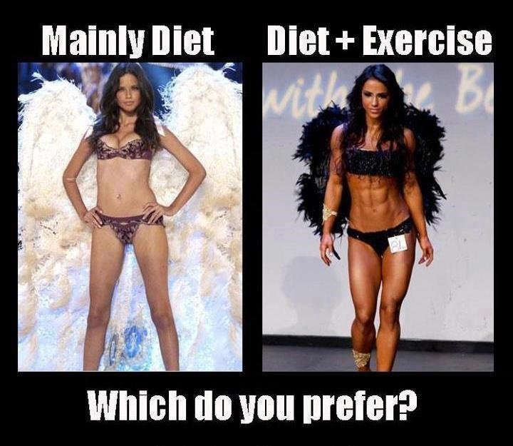 diet vs exercise lose weight easily