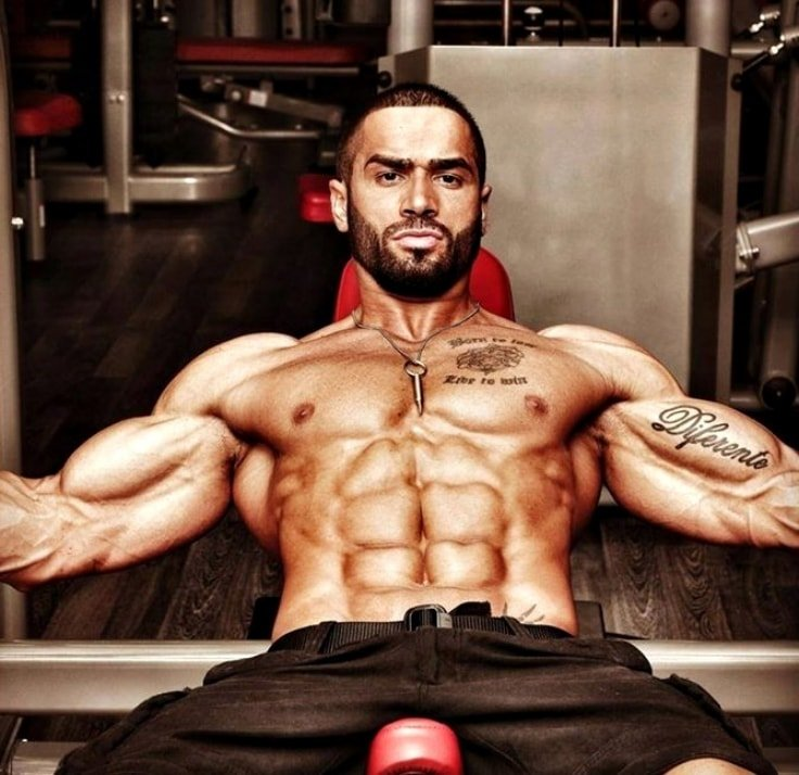 Lazar Angelov's Abs and Arms