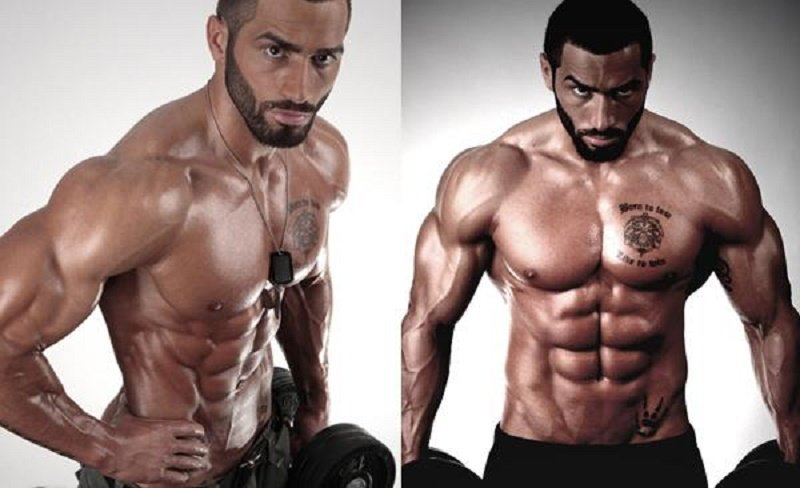 Lazar Angelov's workout program