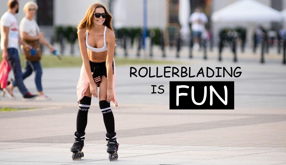 Rollerblading Is A Sport Full Of Benefits