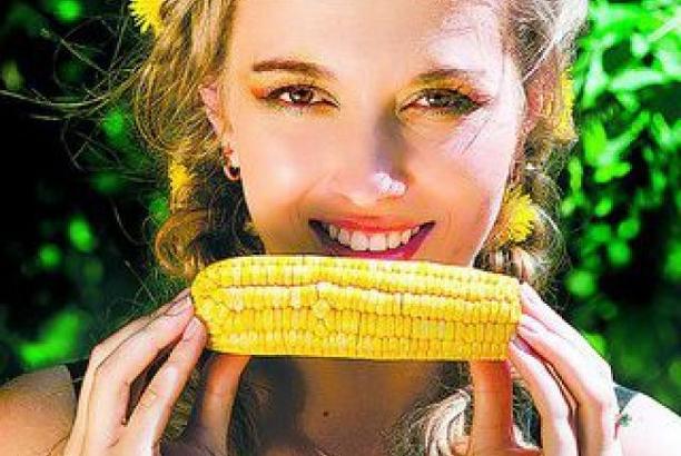 boiled corn