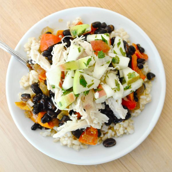 Black beans and rice2