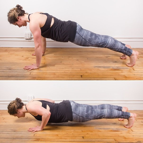 Push ups for beautiful arms