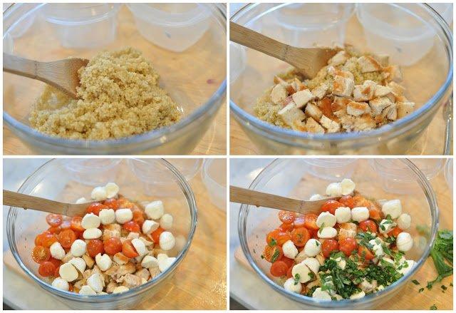 Quinoa Caprese Salad 2