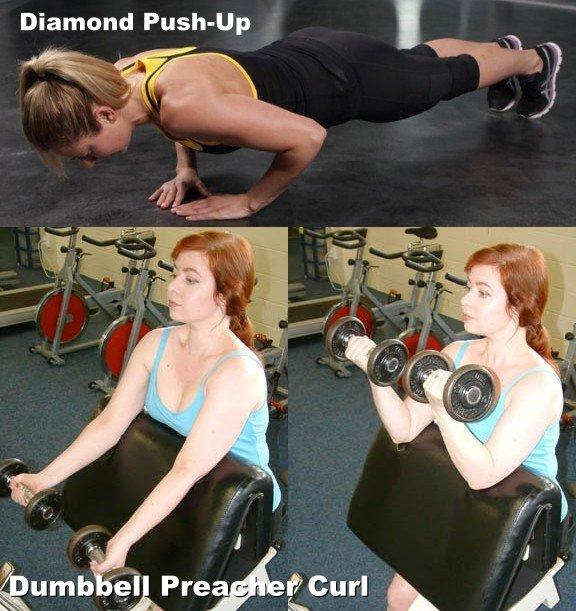 Diamond Push-Up