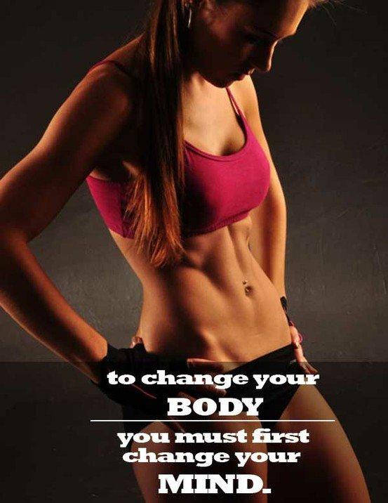 attitude for healthy body