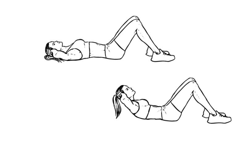 Workout For Females - Crunches