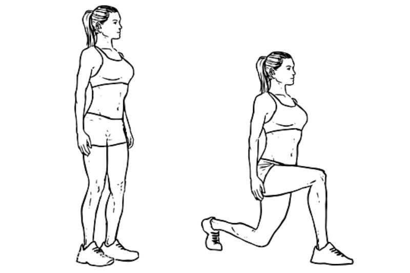 Workout For Females - Lunges