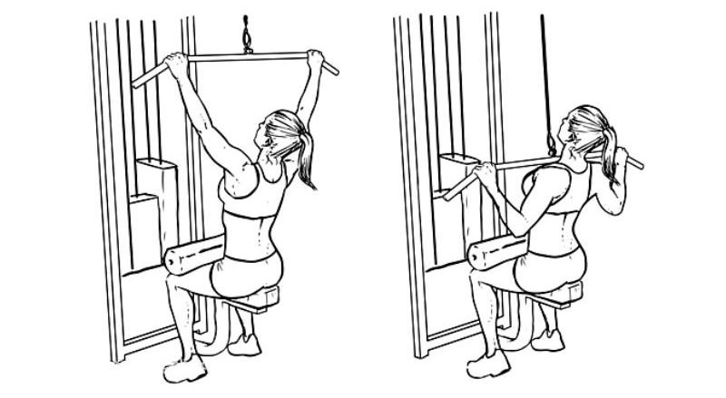 Workout For Females - Pulldown
