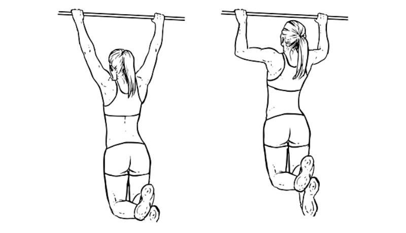 Workout For Females - Pullups