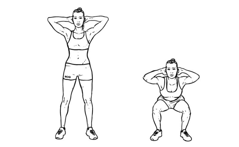 Workout For Females - Squats