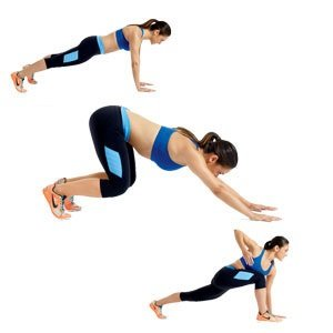 easy fat burning exercises