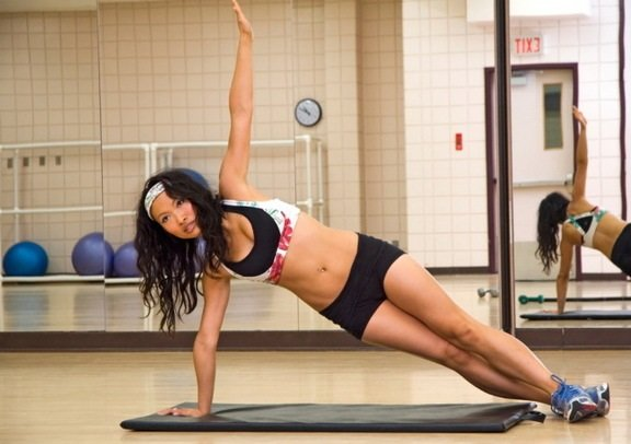 Side Plank - Yoga Poses