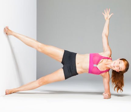 Wall exercises - Side slimmer
