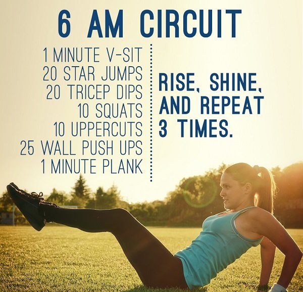 boost your metabolism - morning workout