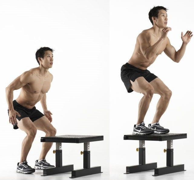 300 Workout high box jumps