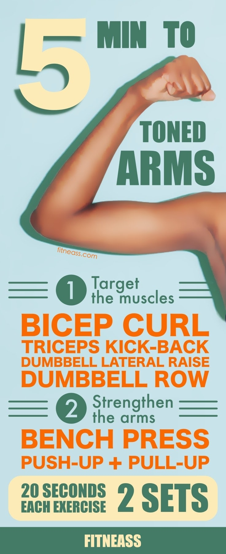 5-Minute Workout To Toned And Lean Arms