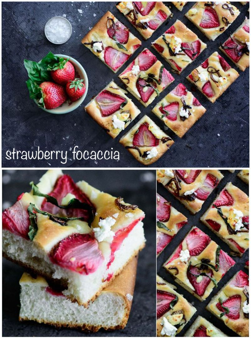 Best Strawberry Focaccia Recipe