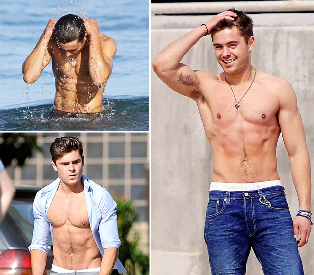 Celebrity Fitness Secrets Zac Efron