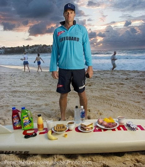 Different Foods Lifeguard