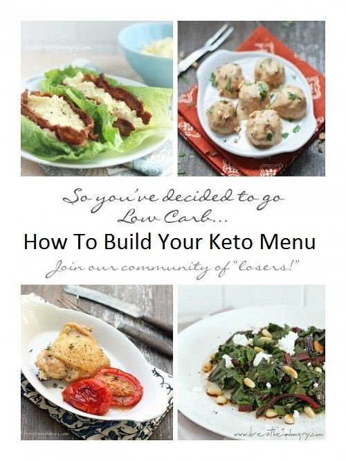 Ketogenic menu