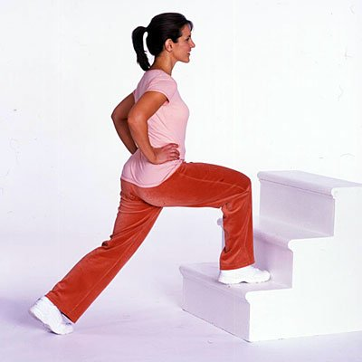 Thigh toning Stair Steps