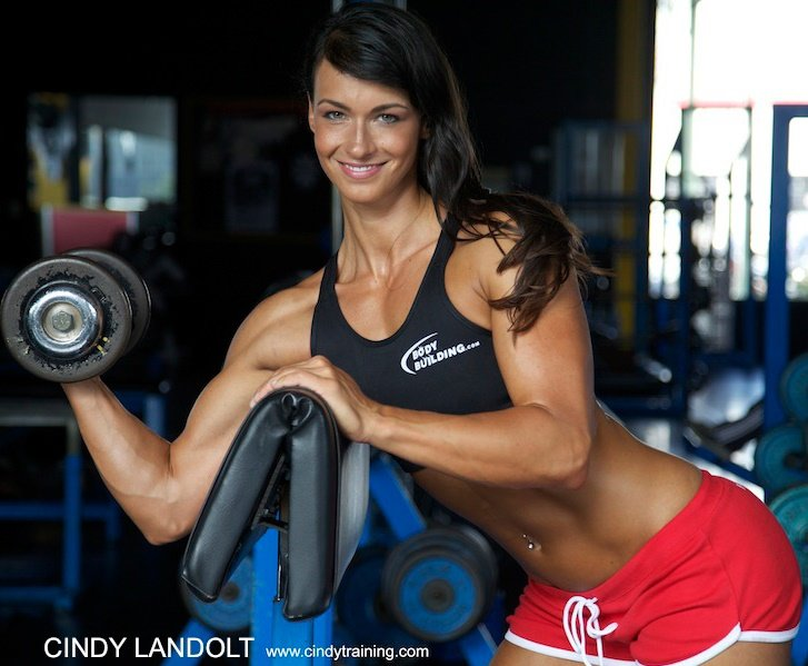 Cindy's biceps workout