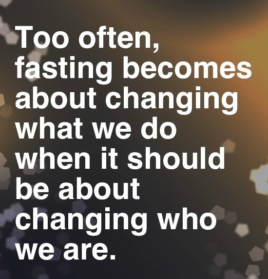 Fasting tips
