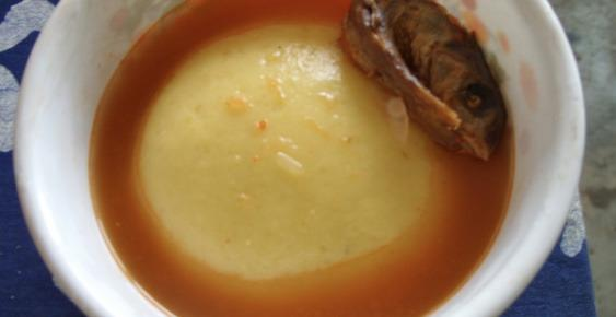 Weird foods: Fufu