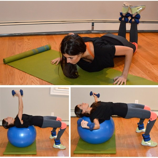 Full-body superset workout