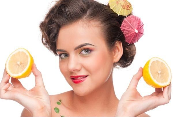 Lemon anti-dandruff