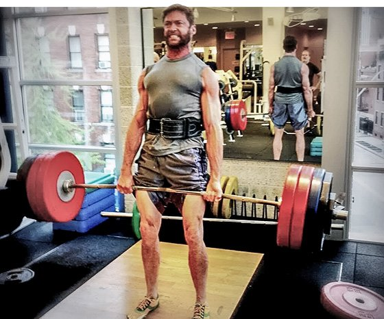 Wolverine Workout with Hugh Jackman