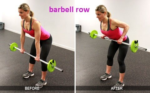 30-Minute Workout barbell-rows