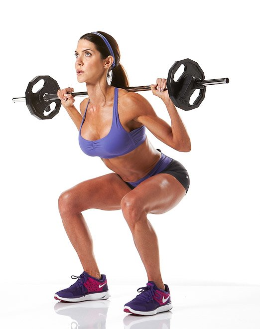 Manly Exercises Squat