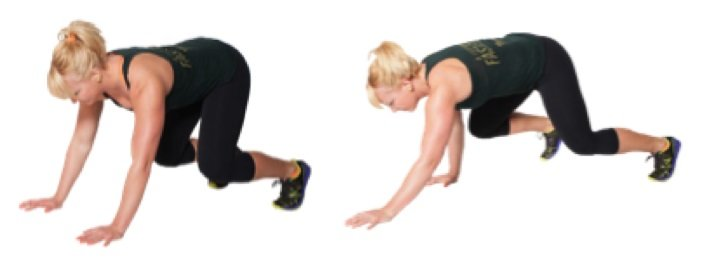 Bodyweight Exercises Bear Crawl