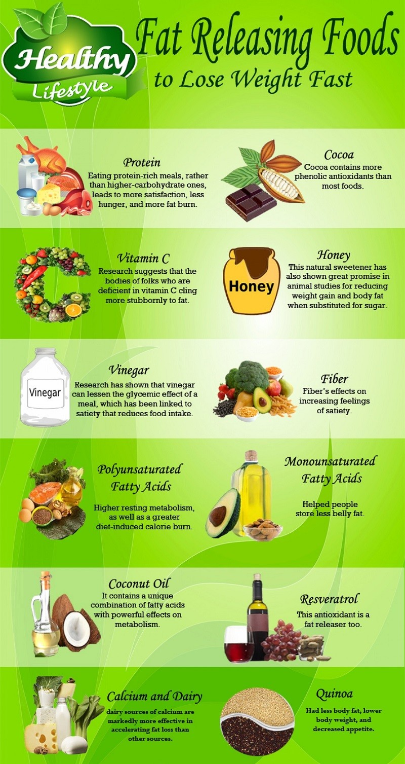 Lose Weight Faster Infographic