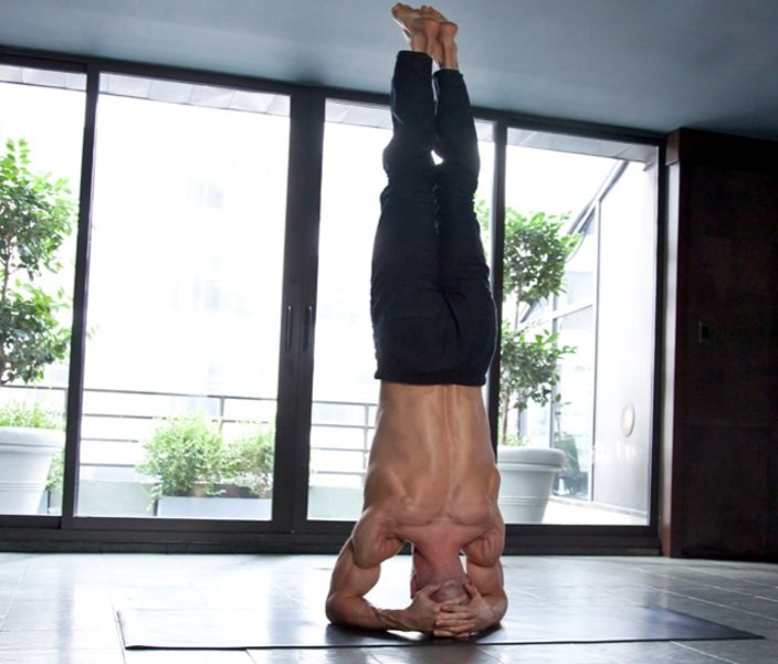 Six Pack HEADSTAND TILT
