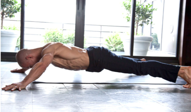 Six pack STAR PLANK