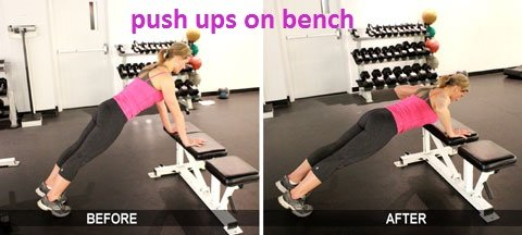 pushups-hands-on-bench