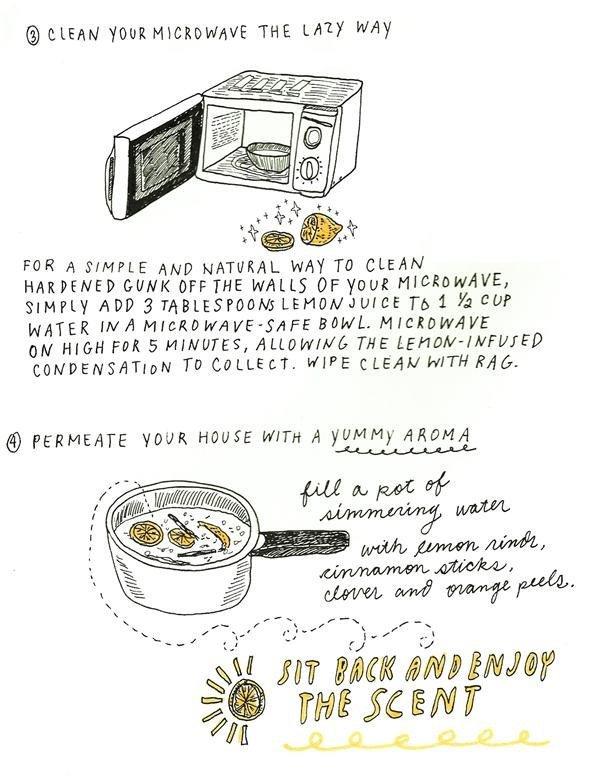 Extraordinary uses for lemons 4