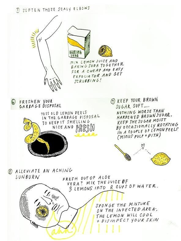 Extraordinary uses for lemons 3