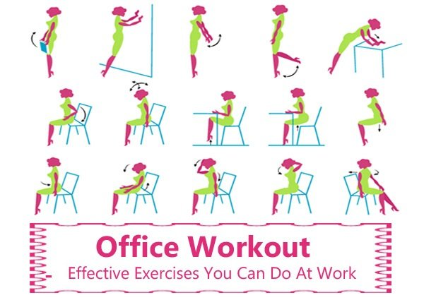 Ways To Exercise At Work Without Being Too Obvious