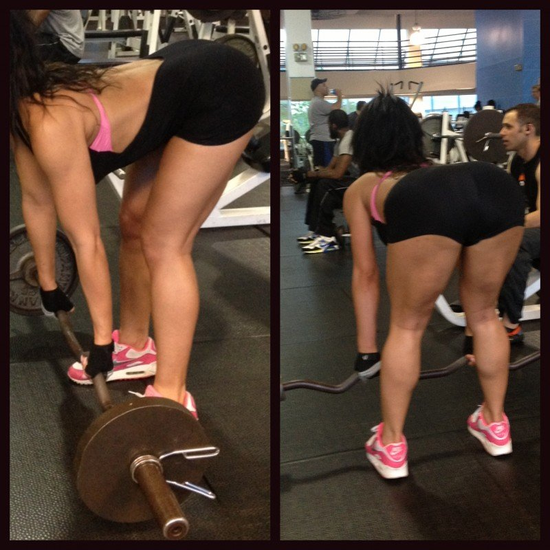 lower back muscles with deadlift