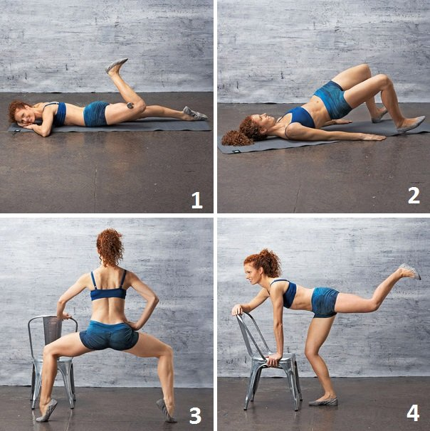 4 Gravity defying butt exercises